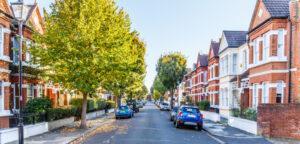 A street in Derby