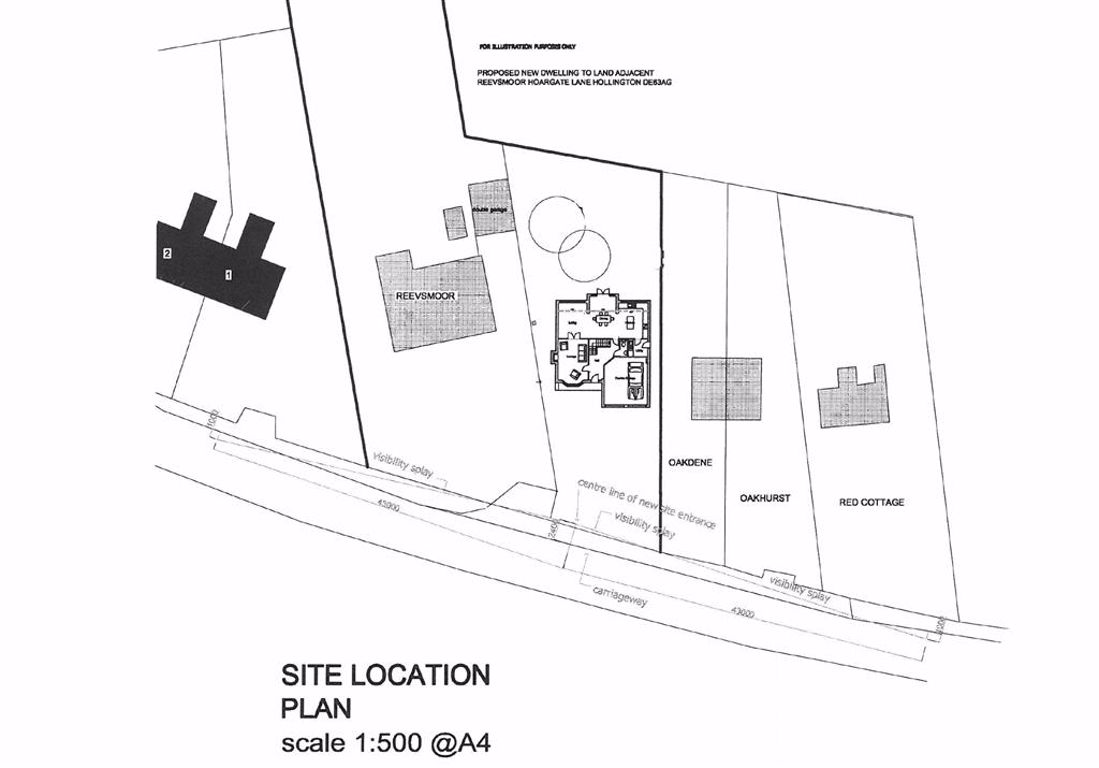 Building Plot Adj To, Reevsmoor, Hoargate Lane, Hollington, Ashbourne, DE6 3AG Banner